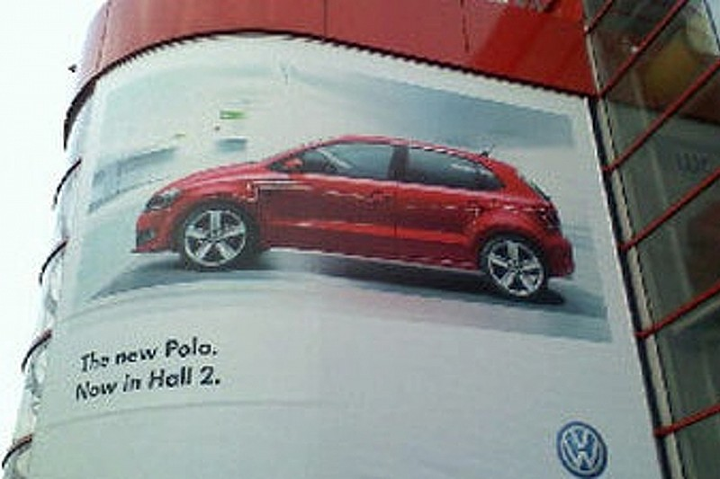 New VW Polo Revealed on Geneva Billboard Advertisement
