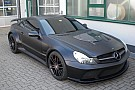 One off BRABUS VANISH based on SL65 AMG Black Series surfaces