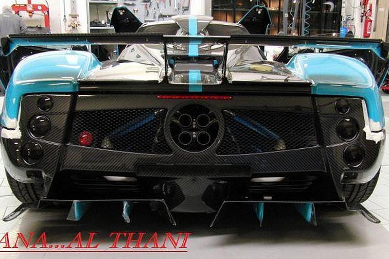 Pagani Zonda Uno one-off commission to close out the Zonda model
