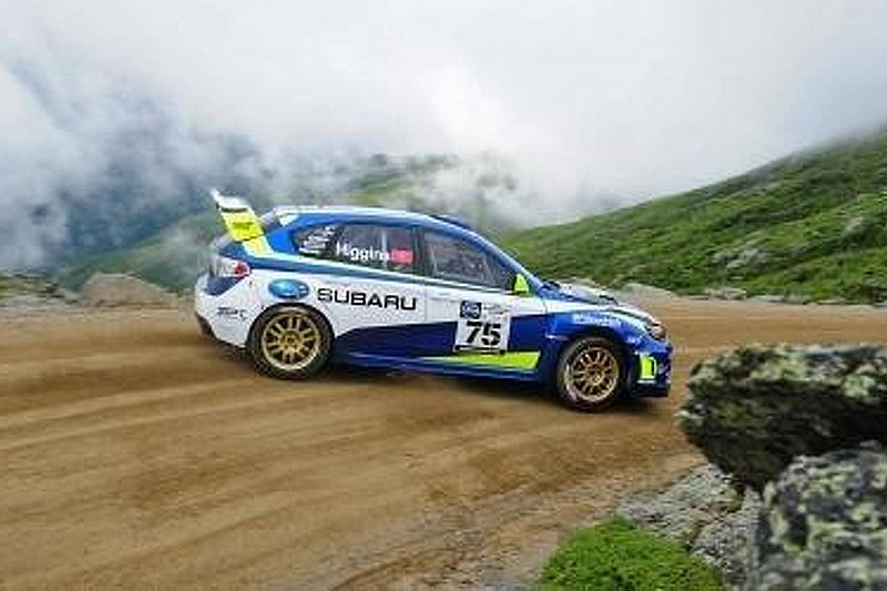 Subaru Rally Team USA's David Higgins breaks Mt. Washington record [video]