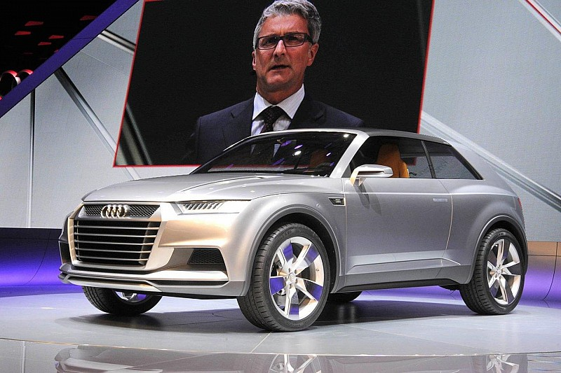 Audi Crosslane Coupe Concept unveiled
