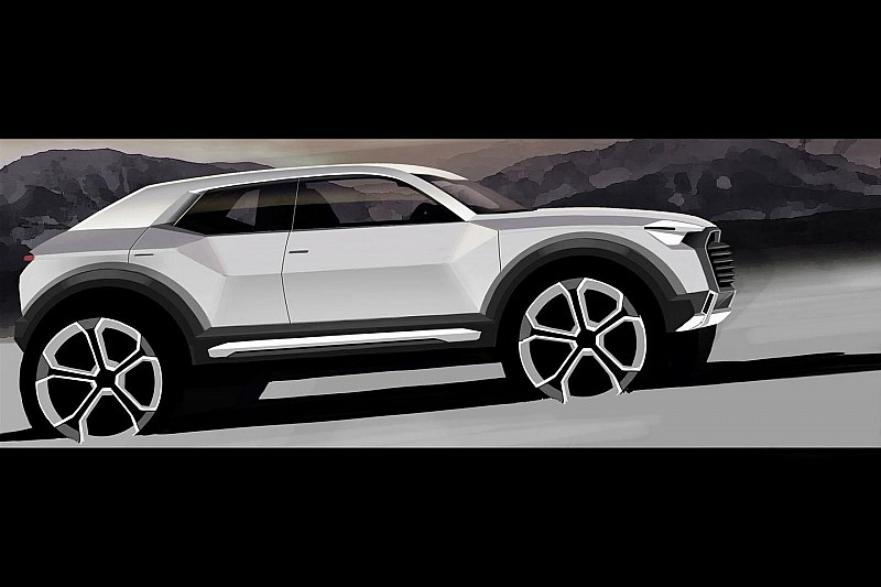 Audi Q1 teased, goes into production in 2016