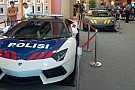 Lamborghini Aventador and Gallardo for Indonesian police