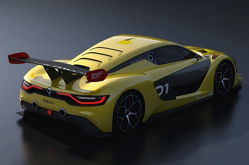 Renaultsport R.S. 01 breaks cover with more than 500 hp [video]