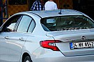 Production Fiat Egea photographed in the metal