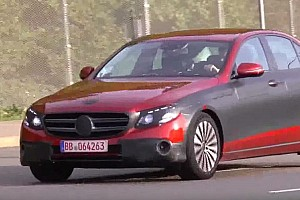 2016 Mercedes-Benz E-Class Sedan and Estate continue testing on public roads [spy videos]