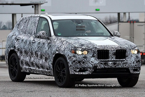 2017 BMW X3 M40i spied in United States