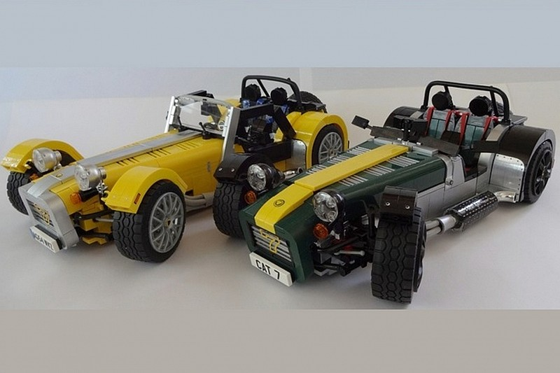 lego caterham super seven set is coming video wcf news. Black Bedroom Furniture Sets. Home Design Ideas