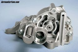 BMW volumed controlled oil pump