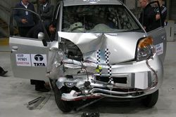 Tata Nano passes first European crash tests