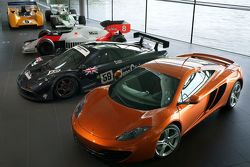 McLaren MP4-12C at the McLaren Technology Centre