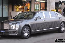 Stretched Bentley Mulsanne from ArmorTech 30.05.2011