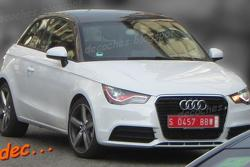 Audi RS1 spy photo