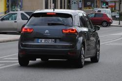2013 Citroen C4 Picasso spy photo 06.02.2013 / AutoExpress.co.uk