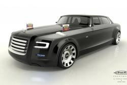Russian presidential limo concept by Yaroslav Yakovlev and Bernard Weel 25.2.2013