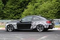 2016 BMW M2 spied on the Nurburgring