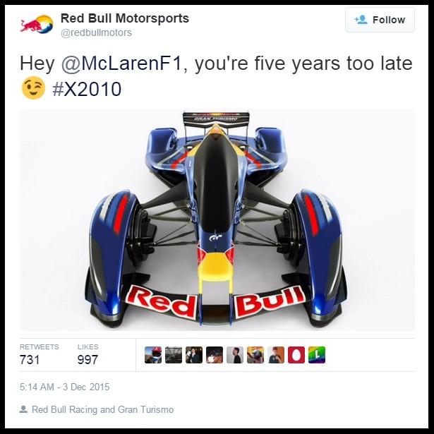 Red Bull Twitter post