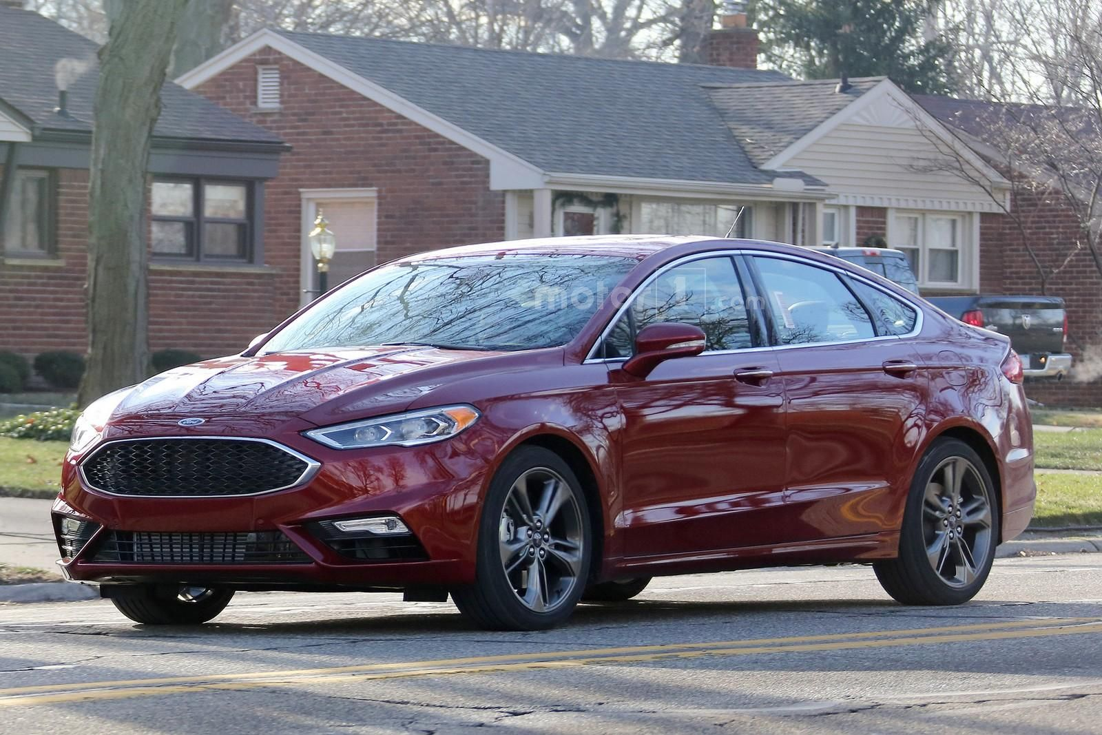 Spied: 2017 Ford Fusion MCE Caught Undisguised Ahead of Detroit Debut ...