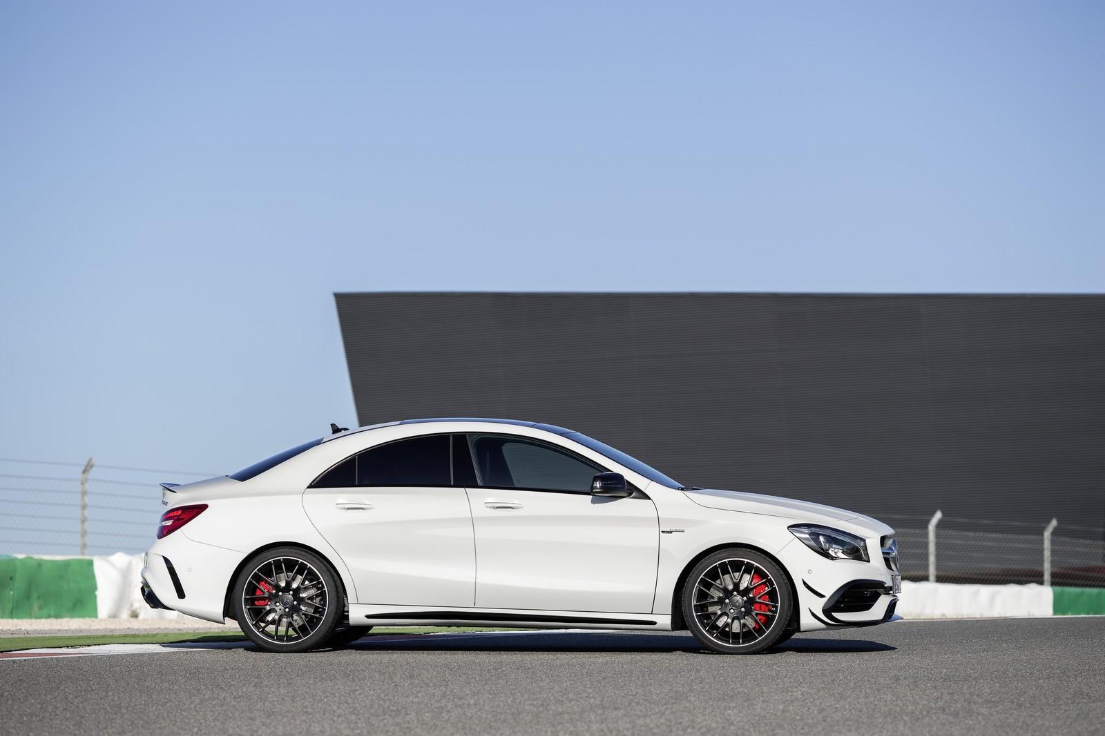 Mercedes Benz Cla Facelift Sedan Shooting Brake Amg